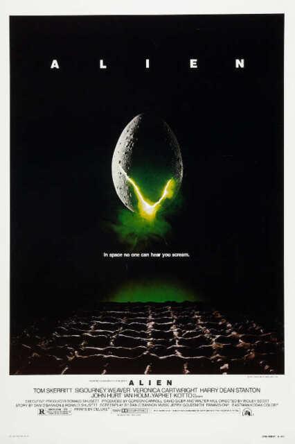 Alien 1979 Science Fiction Horror Movie Xenomorph B/&W Adult Pull-Over Hoodie