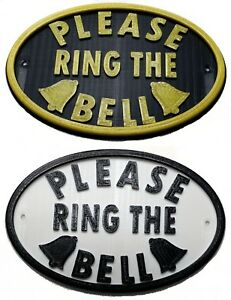 Please-Ring-The-Bell-3D-Plaque-House-Door-Gate-Garden-Sign