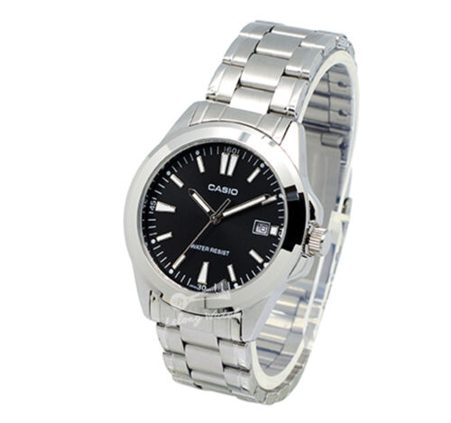 1 of 1 - -Casio MTP1215A-1A2 Men's Metal Fashion Watch Brand New & 100% Authentic