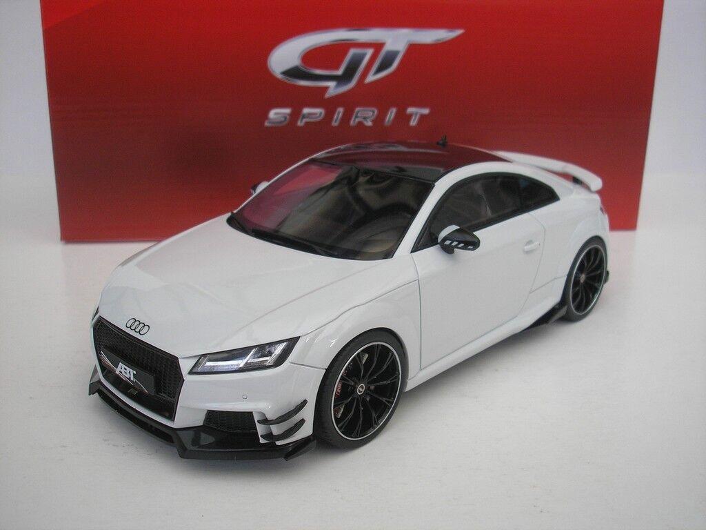 Audi Abt Tt Rs-R 2017 biancao 1 18 Gt Spirit Gt211 Nuevo