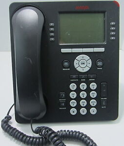 Avaya 9608 Business VoIP Network Telecommuter Teleworker Work From Home Phone