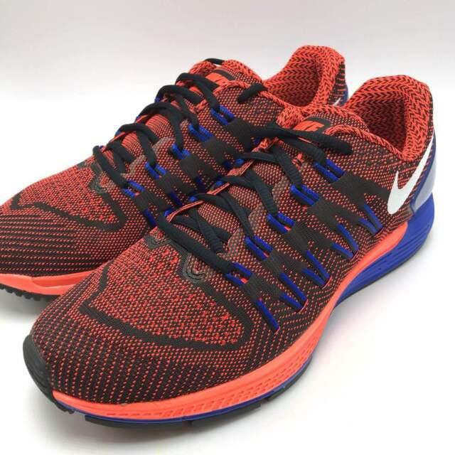 on sale 6e320 319df Nike Air Zoom Odyssey Men s Running Shoes Black Crimson 749338-004