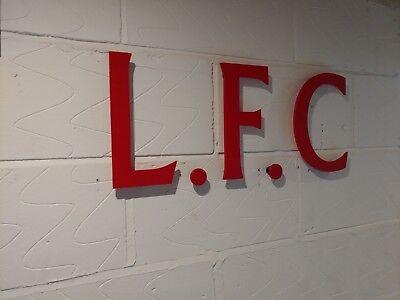 Pub Club Garage LIVERPOOL FC L.F.C The Ultimate wall sign Mancave