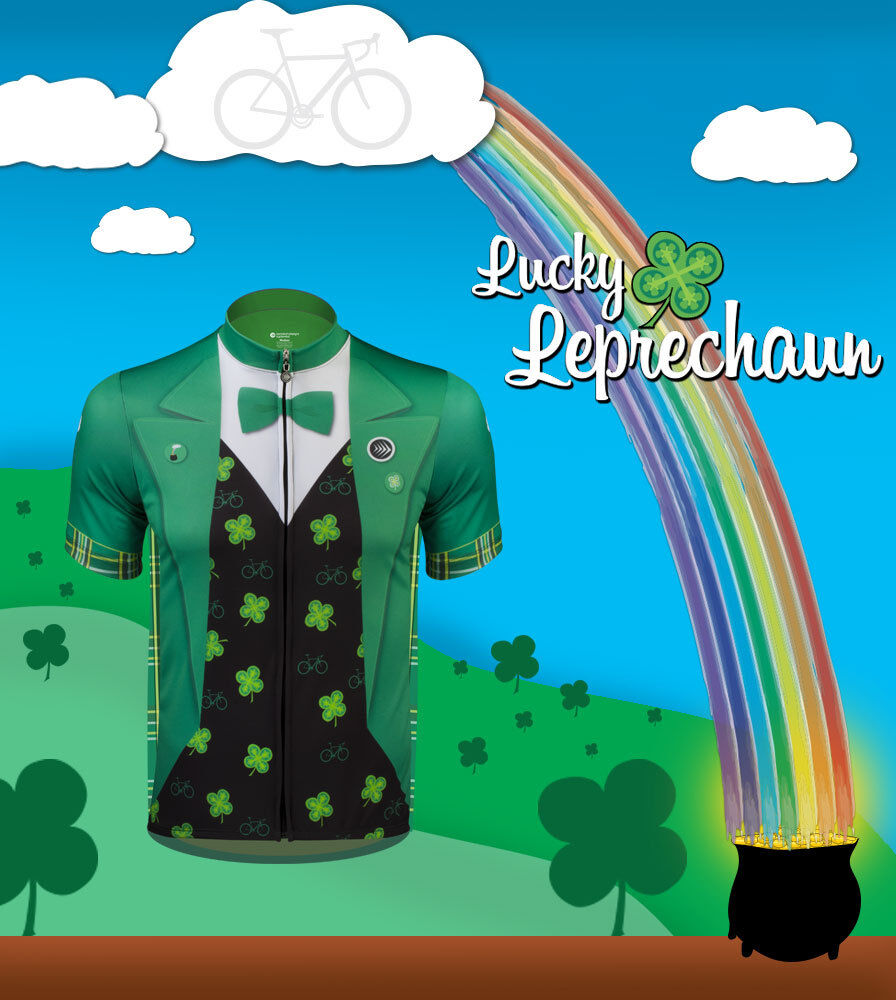 Aero Tech Designs Lucky Leprechaun The Official St. Paddy's Day Cycling Jersey