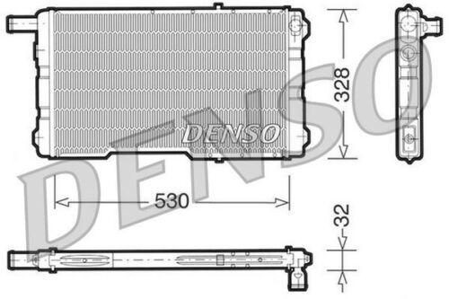 Radiateur pour SAAB 99 2.0 76 /> 84 Essence Combi Coupé B20 B20C B20I B20T DENSO
