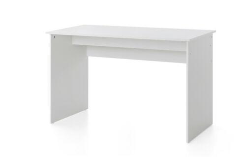 Weiß PC-Schreibtisch Computertisch Bürotisch Arbeitstisch 125 x 60 Wilmes