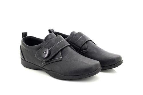 Dr frittura pelle profonda Keller in Shoes chiusura ortopedica con fodera apawz