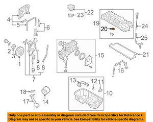2008 hyundai elantra engine diagram hyundai oem 01 12 elantra engine valve cover seal 2244323001 ebay  hyundai oem 01 12 elantra engine valve