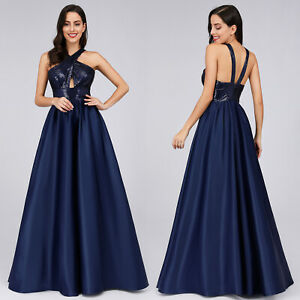Ever-pretty-US-Long-Navy-Blue-Formal-Prom-Gowns-Evening-Cocktail-Party-Dresses