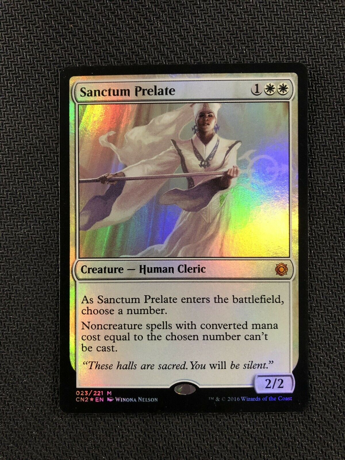 Sanctum Prelate Foil Conspiracy Take the Crown Magic The Gathering Light Play
