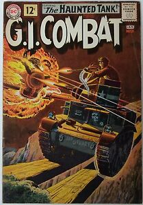 G-I-Combat-91-Dec-1961-Jan-1962-DC-FN-VFN-1st-Haunted-Tank-cover