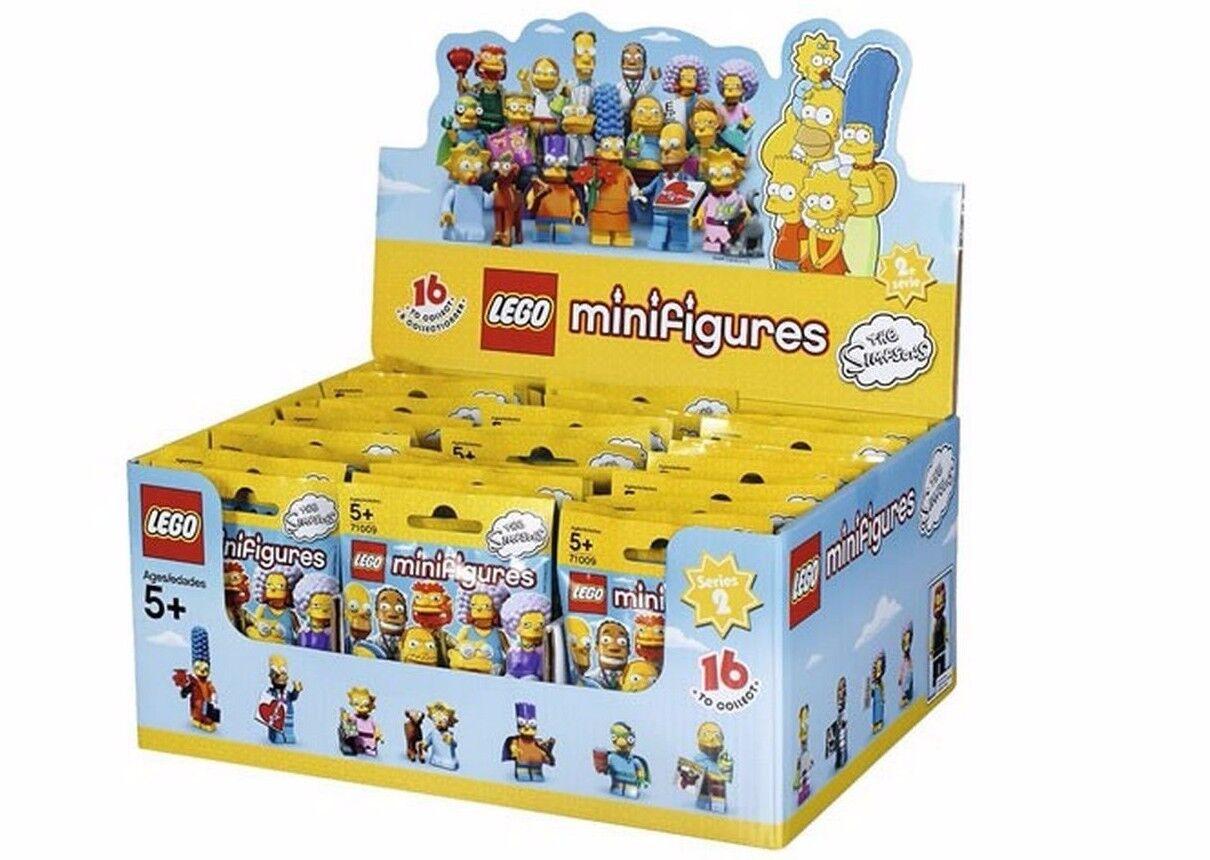Neu Ovp Lego Kiste Hülle 71009 Of 60 Minifiguren - die Simpsons Serie 2