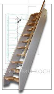 kleine raumspartreppe gerade treppe aus buche. Black Bedroom Furniture Sets. Home Design Ideas