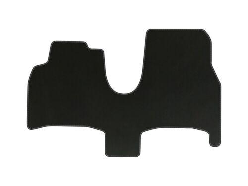 Velours Fußmatten für Citroen C8 Bj 2002-2010 Passform Automatten Schwarz STD