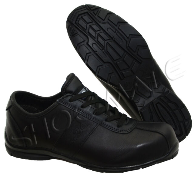 MENS LEATHER MIDSOLE COMPOSITE NON METAL TOE CAP SAFETY WORK BOOTS SHOES TRAINER