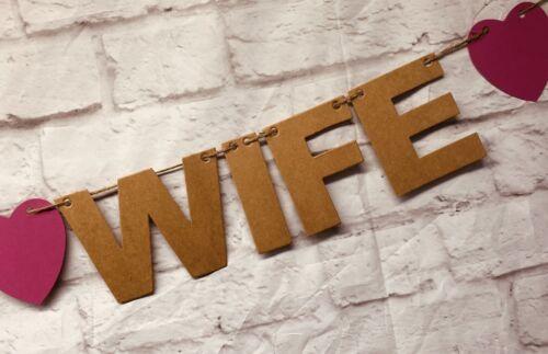Personalised proposal wedding Engagement Banner Decs bunting Leap Year LGBT