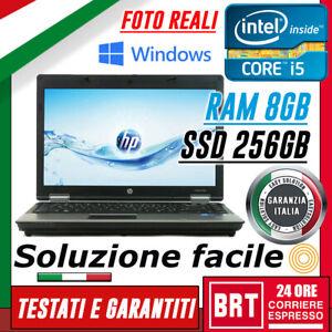 PC-NOTEBOOK-PORTATILE-HP-ELITEBOOK-6460B-14-034-i5-8GB-RAM-SSD-256GB-OTTIMO-WIN-10