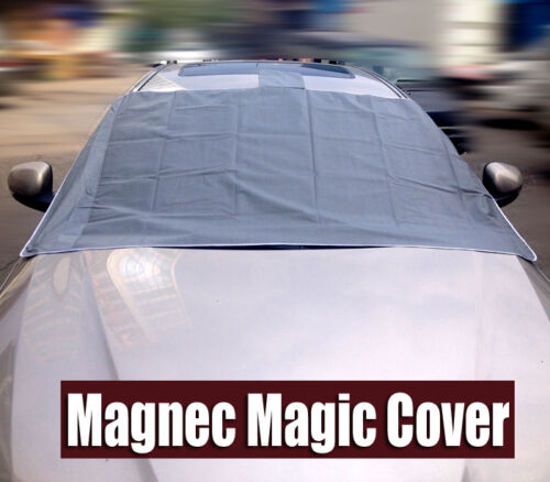 Magnetic Car Windshield Cover Windscreen Ice Frost Snow Shield Sun Shade Blind
