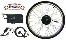 Electric Bike Conversion Kit - 350 Watt, 36 Volt, 20 Mile Lithium Battery