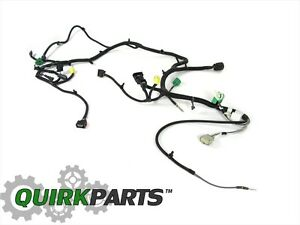 2014 jeep wrangler w fog lights headlamp light wiring harness new rh ebay com  2014 jeep wrangler radio wiring harness