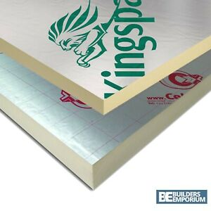 Ecotherm Recticel insulation boards 25mm 10 sheets Celotex Kingspan