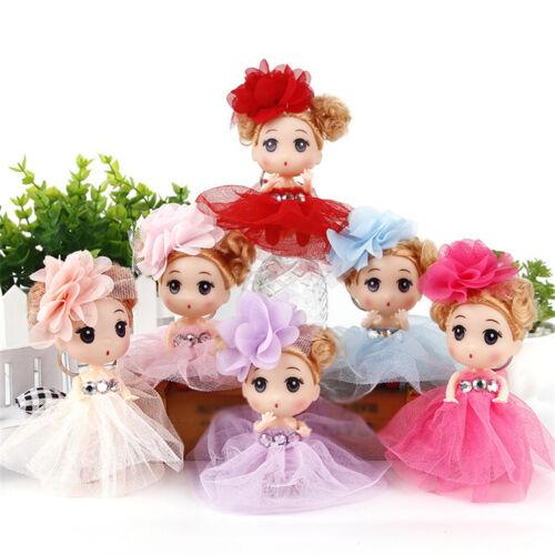 12cm Mini Ddung Doll Cute Toy Confused Doll Key Chain Phone Pendant Ornament HU
