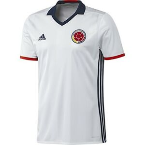 a3ed9abdc Image is loading ADIDAS-COLOMBIA-HOME-JERSEY-COPA-AMERICA-2016
