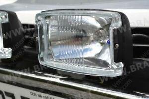 12-24v-Rectangle-Spot-Fog-Light-Truck-Trailer-Bus-Van-4x4-Car-Pickup-Boat-x2
