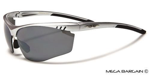 XLoop Half Frame Sport Active Lifestyle Mens Cycling Running Baseball Sunglasses