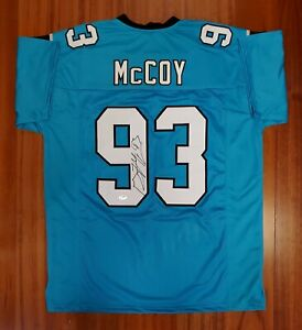 new arrival 5447b 1d302 Details about Gerald McCoy Autographed Signed Jersey Carolina Panthers  Beckett