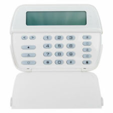 (NEW) DSC POWERSERIES 64 ZONES LCD KEYPAD FULL MESSAGE ALARM FIRE SYSTEM