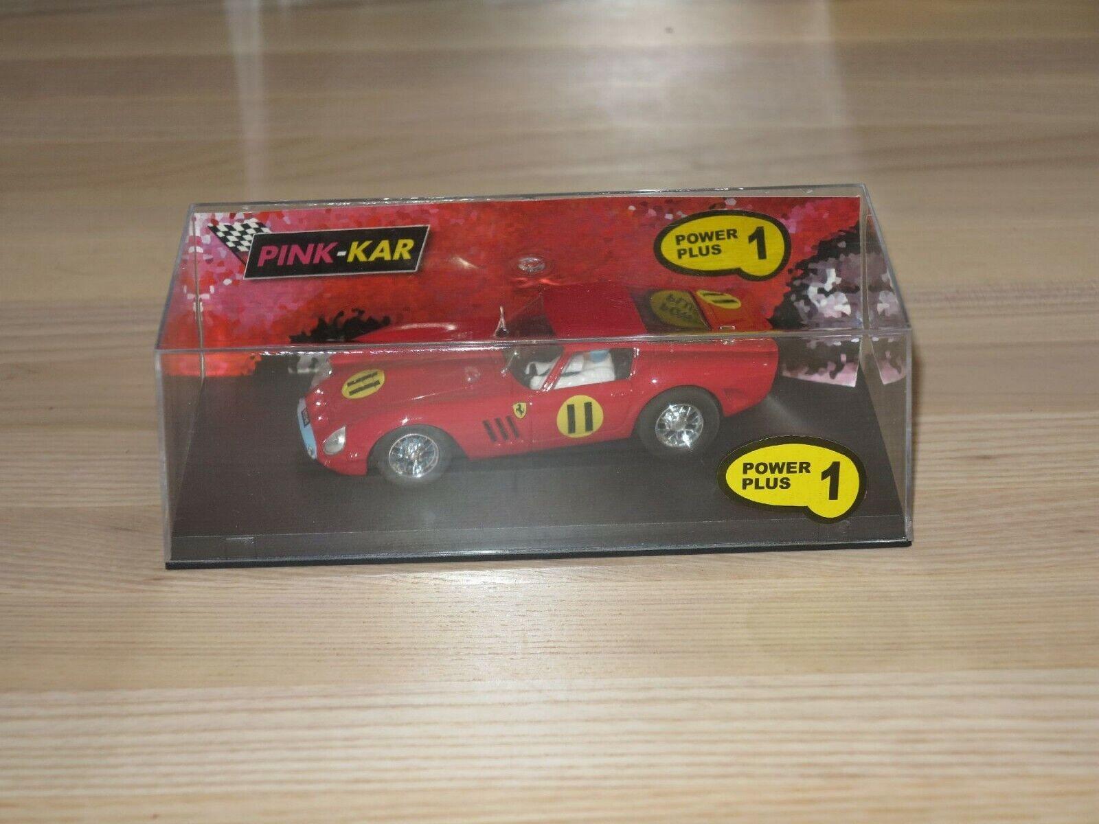 rosado-Kar Ferrari 250 Gto T. Trofeo 1963 1  3 2 Coche Slot