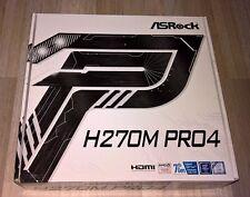 ASRock H270M Pro4 M.2/HDMI/DVI/VGA/GL/USB3.0 mATX Mainboard Sockel 1151 OVP NEU