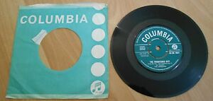 The-Shadows-The-Frightened-City-7-034-Inch-45-Vinyl-Single-Columbia-1961