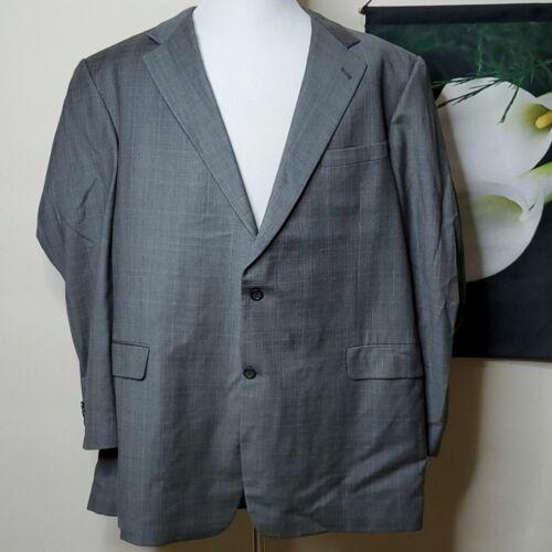 Men's Burberry Plaid Suit Jacket