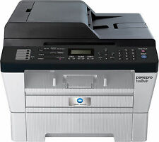 New Konica Minolta Pagepro 1590MF Multifunction Laser Printer(P,S,C,F,N,ADF)