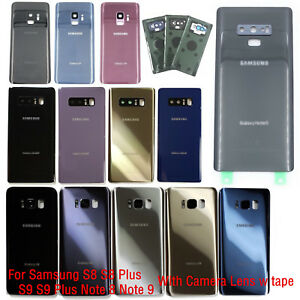 About 9 Samsung Cover Glass Replacement S9 S8 Note Camera Back Battery Details Tape Lens For