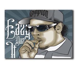 T-706 Art Poster NWA Ice Cube Dr Dre Gangsta Rap Hot Silk 24x36 27x40IN