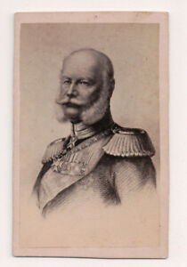 Vintage-CDV-Kaiser-Wilhelm-I-Emperor-of-Germany-King-of-Prussia