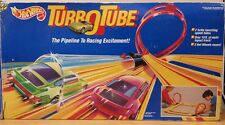 Vintage Hot Wheels Turbo Tube Raceway Set 1991 Mattel RARE