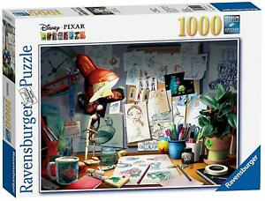 Ravensburger-Disney-Pixar-The-Artist-039-s-Desk-Puzzle-1000-Piece-Jigsaw-Puzzle