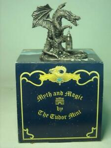 2001-Tudor-Mint-THE-DRAGON-039-S-PRISONER-3898-Original-Box-Myth-and-Magic-Dragons