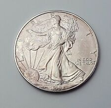 U.S.A - DATED 1998 - SILVER - EAGLE - $1 ONE DOLLAR COIN - AMERICAN SILVER COIN