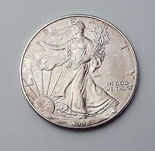 U.S.A - DATATA 1998-argento-Aquila - $1 UN DOLLARO MONETA-American Silver Moneta