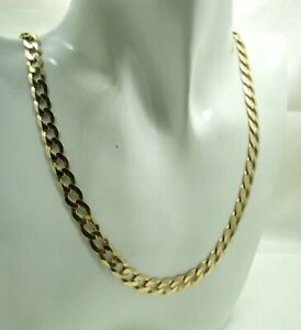 Gents-Super-Quality-9-carat-Gold-Curb-Link-Neck-Chain