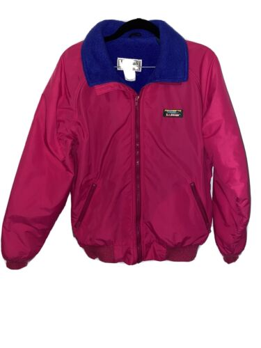 VTG Vintage 80s LL Bean Warm Up Jacket Insulated W