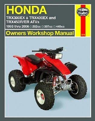 trx250ex collection on ebay rh ebay com 2001 honda trx400ex owners manual 2001 honda 400ex manual