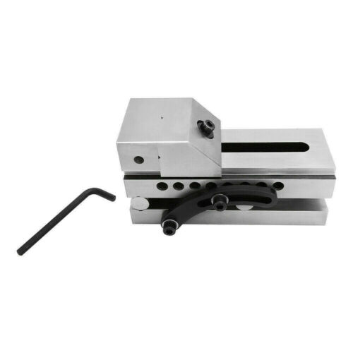 """2/"""" Precision Sine Vise 2-5//8/"""" Opening Toolmaker Machinist Tookmaking Clamp Vise"""