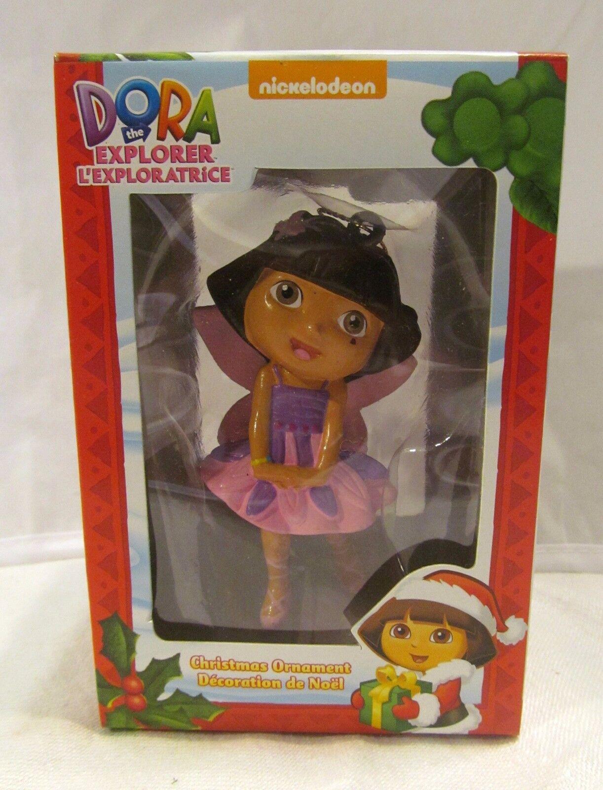 Dora the Explorer Tooth Fairy Doll Figure Christmas Tree Ornament Birthday Gift