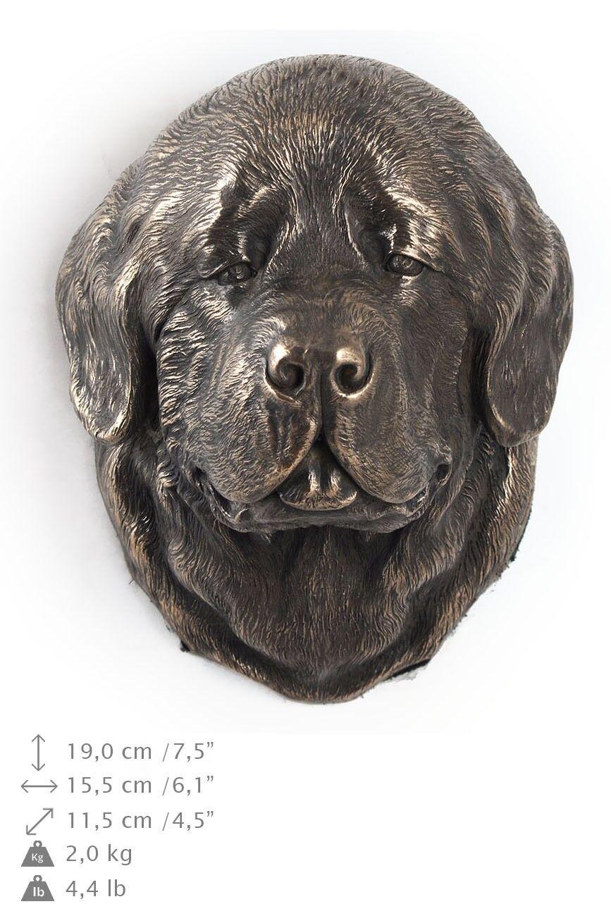 Terranova - statua del cane per appendere al muro, Art Dog IT
